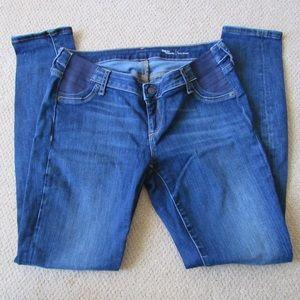 Gap maternity skinny jeans no distressing sz 4